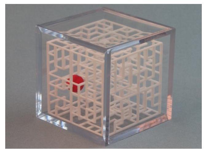 Escher's Playground 3D Maze Cube SteveWinter